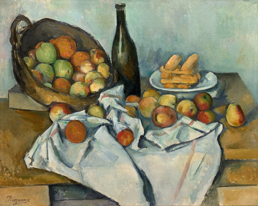 Agricoltura – Paul Cézanne – The Basket of Apples (1893) – Art Institute of Chicago
