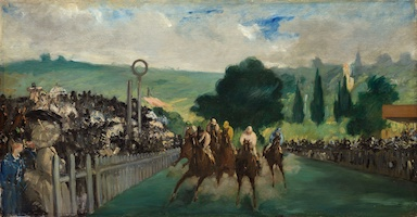 Édouard Manet – The Races at Longchamp (1866) – Art Institute of Chicago