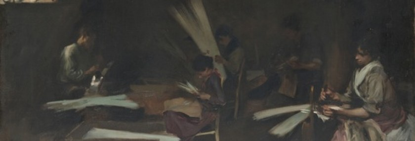 John Singer Sargent – Venetian Glass Workers 1880-82 – Art Institute of Chicago