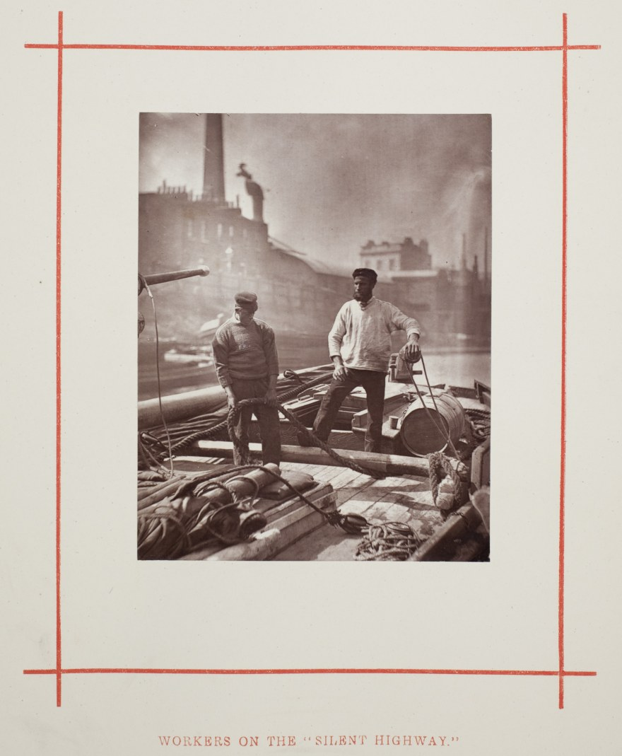 Lavoro – John Thomson – Workers on the Silent Highway (1877) – Art Institute of Chicago