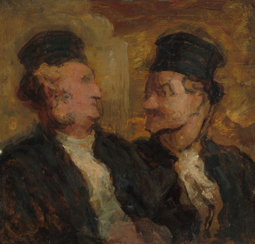 Processuale, avvocatura – Honoré Victorin Daumier – Two Lawyers (1860) – Art Institute of Chicago