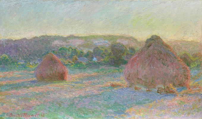 Agricoltura – Claude Monet – Stacks of Wheat (End of Summer) (1890-91) – Art Institute of Chicago