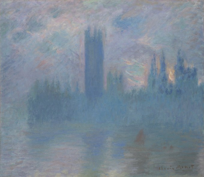 Ambiente – Claude Monet – Houses of Parliament, London (1900-01) – Art Institute of Chicago