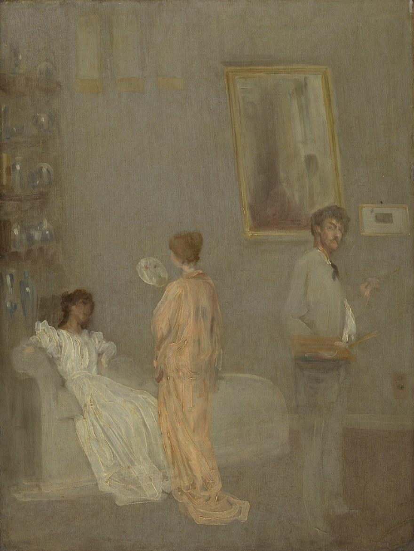 Articolo Dodaro su Whistler – James McNeill Whistler – The Artist in His Studio (1865-66) – Art Institute of Chicago