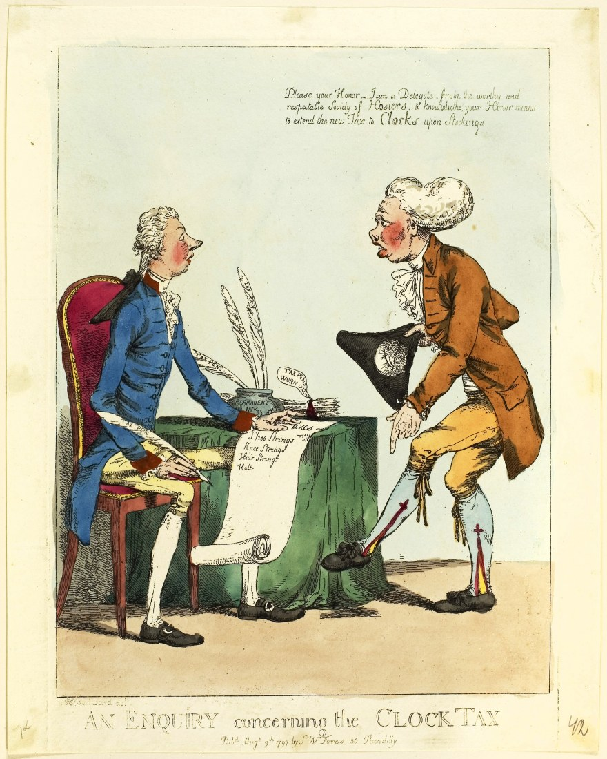 Fiscale – Charles Ansell – An Enquiry Concerning the Clock Tax (1797) – Art Institute of Chicago