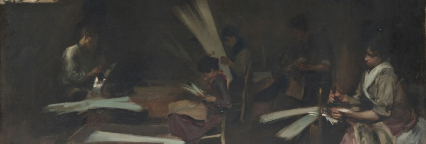 Lavoro – John Singer Sargent – Venetian Glass Workers (1880-82) – Art Institute of Chicago