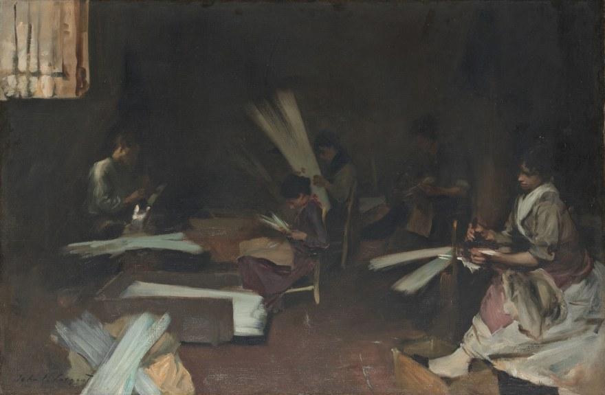 Lavoro – John Singer Sargent – Venetian Glass Workers (1880-82) – Art Institute of Chicago