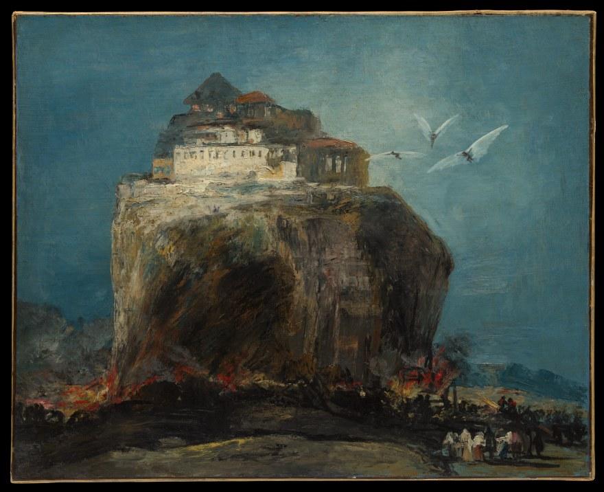 PPP-Project finance – after Goya – A city on a rock (c. 1800) – MOMA