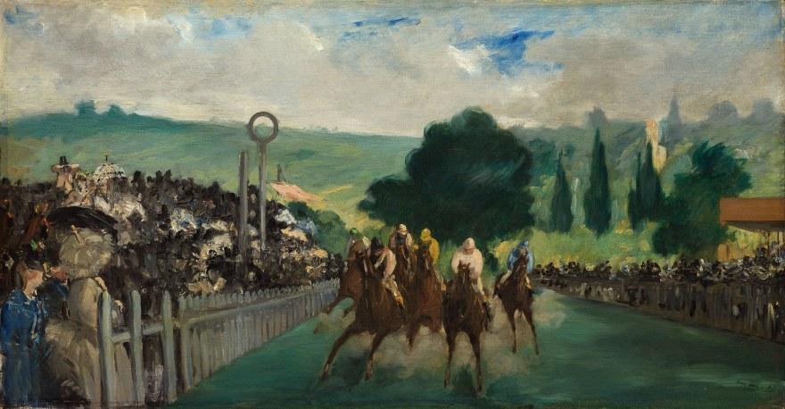 Sport – Édouard Manet – The Races at Longchamp (1866) – Art Institute of Chicago